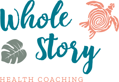 Logo design and branding for Whole Story Health Coaching