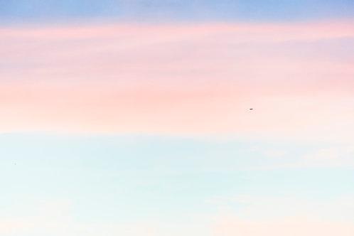 Pastel Rainbow Skies with Airplane (3) - 11000 x 7333