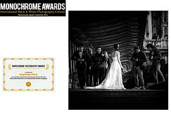 concours photo Monochrome awards mariage paris france