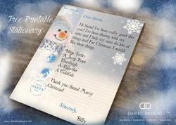 2018 Letter To Santa Letterhead