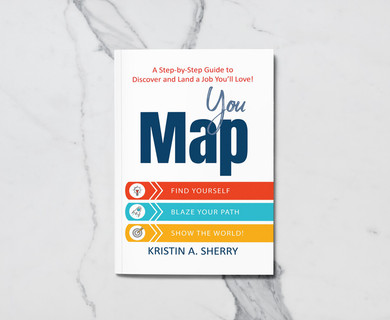 YouMap: Find Yourself. Blaze Your Path. Show the World! Cover Design Assistance