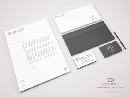 Letterhead Design and Branding for Carolina Cookie Queen