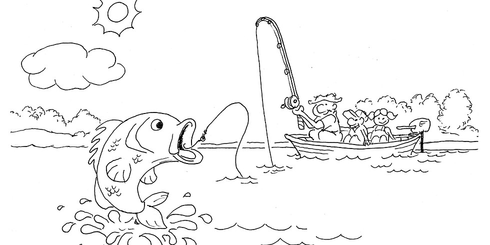 Gallery 120 Weekly Summer Drawing Challenge: Lake Wylie Fishing (5/18/20-5/25/20)