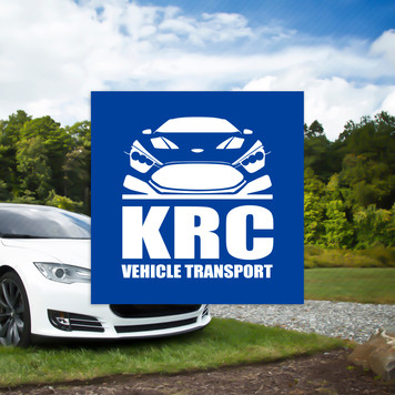 KRC Vehicle Transport Logo Design