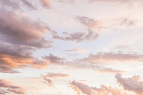Heavenly Pastel Clouds Looping Video Background