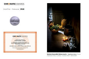 concours photo Chromatic awards nature morte