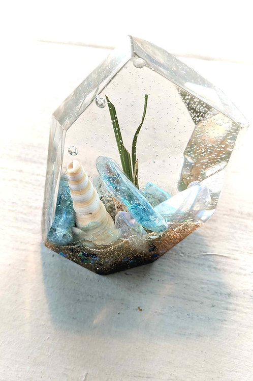 Resin Crystal Seascape