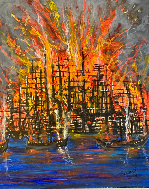 """""""Vulcan - Fire and Water Series (4 of 10)"""""""