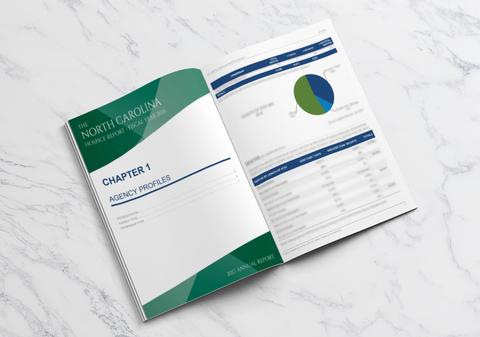 Annual Report & Social Media Asset Design for HPCCR