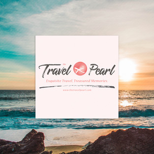 Logo Design and Branding for The Travel Pearl