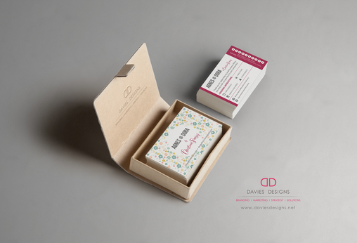 Agnes and Dora Business Cards and Startup Branding