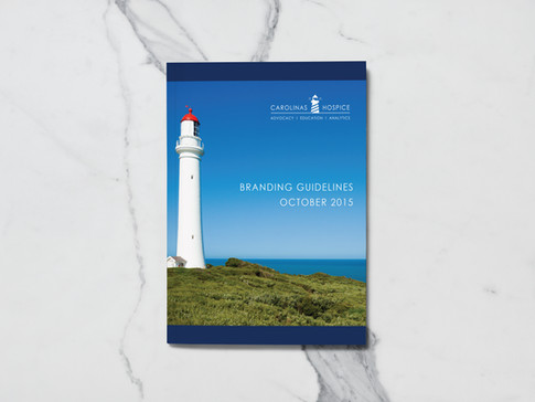 Style Guide & Branding Design for Carolinas Hospice