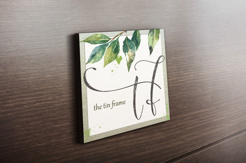 Logo Design and Branding for The Tin Frame