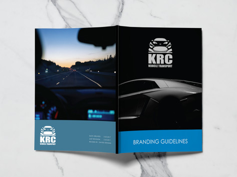 KRC Vehicle Transport Style Guide Design