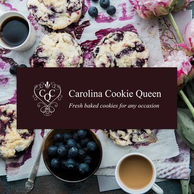 Logo Design and Branding for Carolina Cookie Queen
