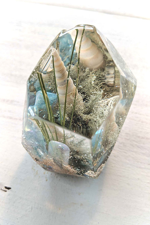 Resin Crystal Seascape