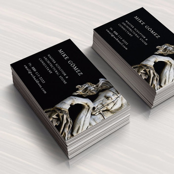 Branding for a Master Sculptor