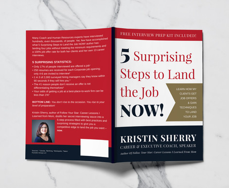Book Cover Design for Virtus Career Consulting