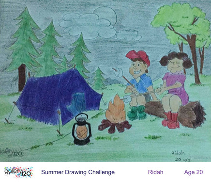 Gallery 120 Summer Drawing Challenge 2020