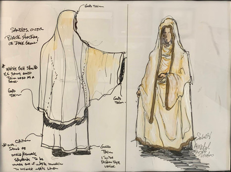 Costume Plate: Mary