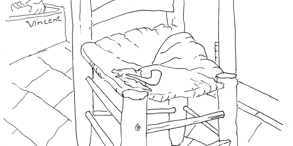 ENTER TO WIN: Gallery 120 Weekly Summer Drawing Challenge: Van Goghs Chair (6/8/20-6/15/20)