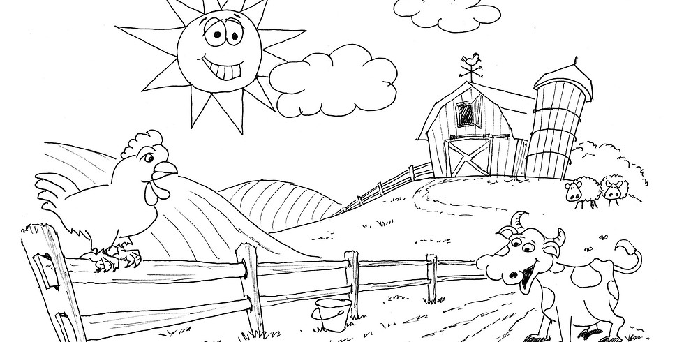 ENTER TO WIN: Gallery 120 Weekly Summer Drawing Challenge: Life on the Farm (6/1/20-6/8/20)