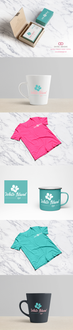 Logo design and branding for White Island Gifts