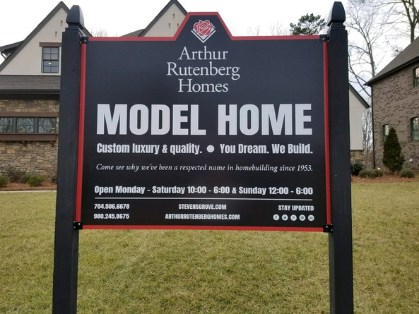 Signage Design for Arthur Rutenberg Homes
