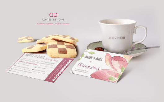 Agnes and Dora Business Cards and Startup BrandingAgnes and Dora Business Cards and Startup Branding