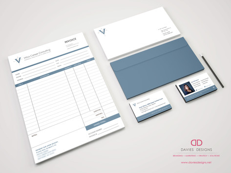 Invoice Design for Virtus Career Consulting