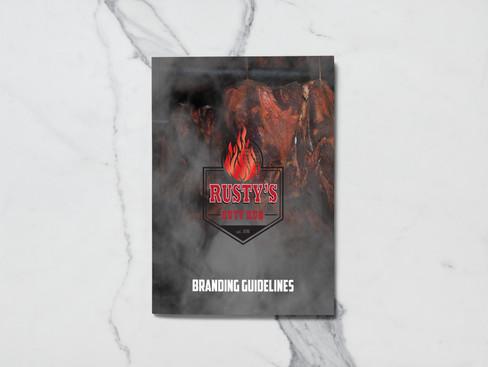Rusty's Butt Rub Style Guide & Branding