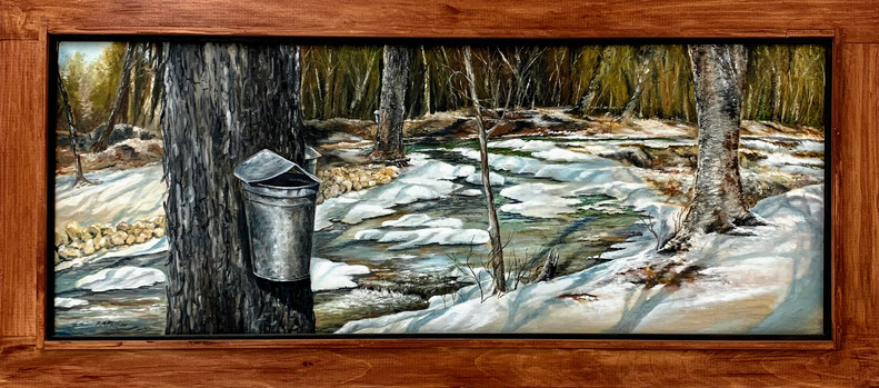 """Maple Sugaring In The White Mountains"""