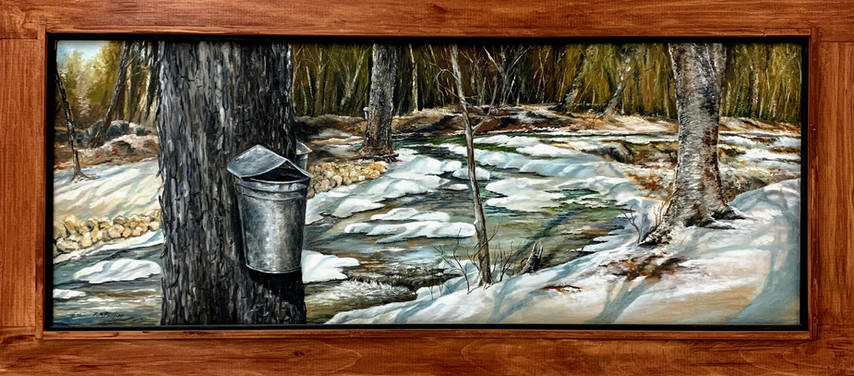 """""""Maple Sugaring In The White Mountains"""""""