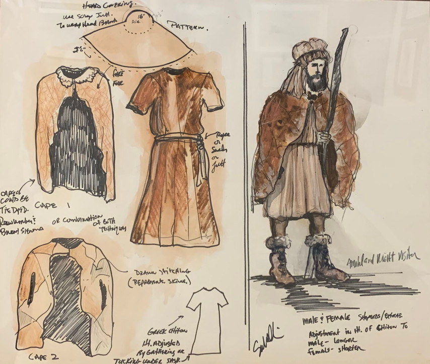 Costume Plate: Sheperds
