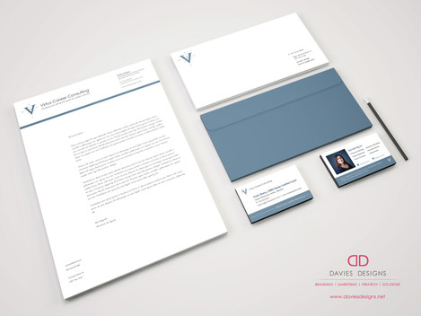 Letterhead Design for Virtus Career Consulting
