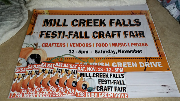 Signage Design for Mill Creek Falls Community