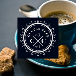 Logo Design and Branding for Gluten Free with C and CLogo Design and Branding for Gluten Free with C and C