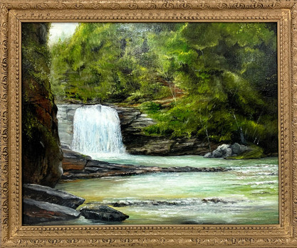 """Twisting Falls, Carter County Tennessee"""