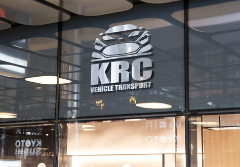 KRC Vehicle Transport Logo Design & Branding