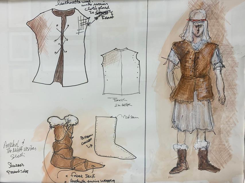 Costume Plate: Peasant