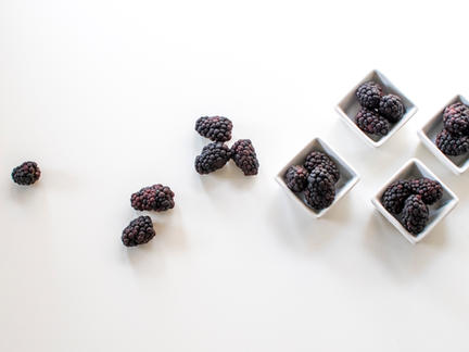 Organic Foods Photography Collection: Blackberries