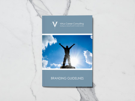 Style Guide Design for Virtus Career Consulting