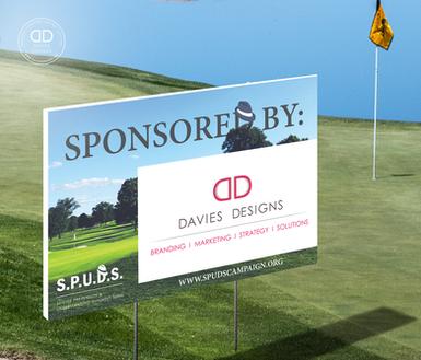 Signage Design for the S.P.U.D.S. Campaign