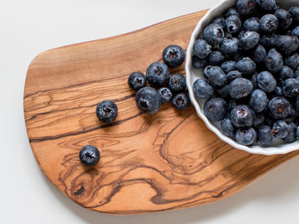 Organic Foods Photography Collection: Blueberries