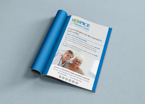 Print Ad Design for HPCCR