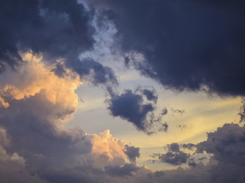 Heavenly Cloud Scene Looping Video Background