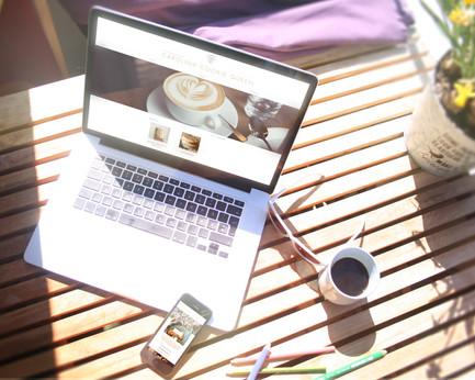 Website Design and Branding for Carolina Cookie Queen