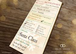 2018 Christmas Gift Tags - Printable