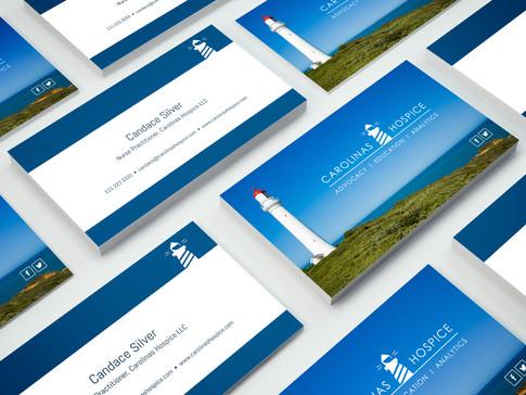 Business Card Design for Carolinas Hospice
