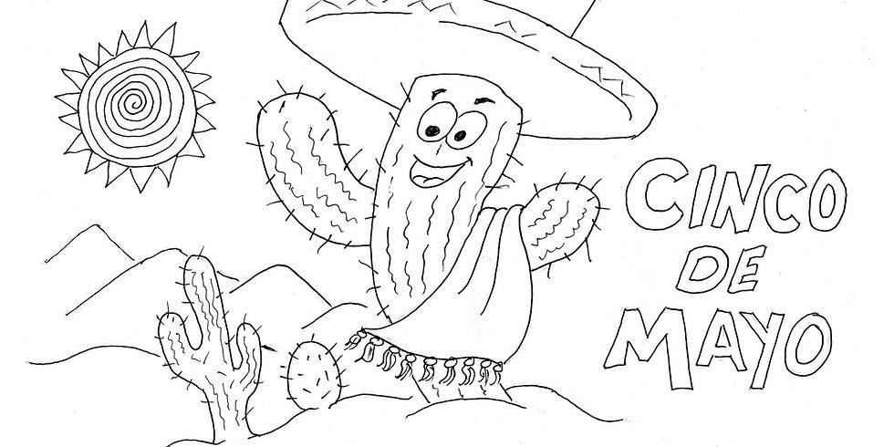 Gallery 120 Weekly Summer Drawing Challenge: Cinco de Mayo (5/5/20-5/12/20)